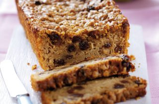 Easy Bramley Apple and Sultana Teabread