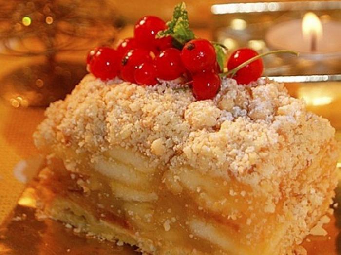 Viennese Apple Pie
