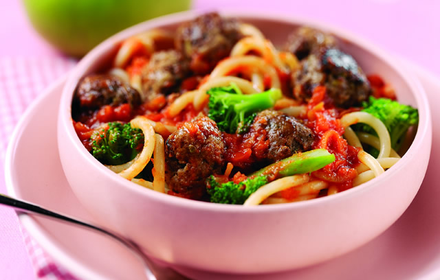 Beef and  Bramley Meatballs