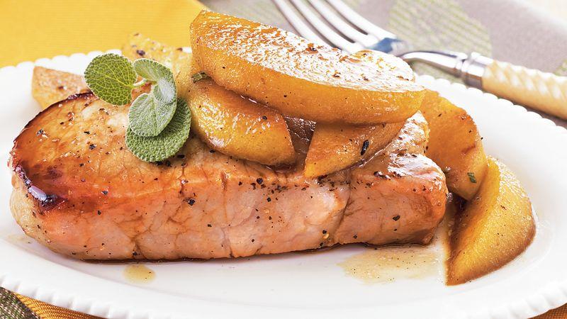 Sage And Apple Pork