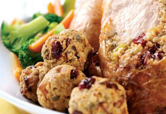 Oaty Bramley Apple And Cranberry Stuffing
