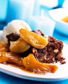 Bramley Chocolate and Pecan Brownies